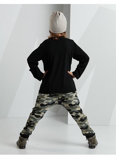 Mushi 2 li Takım Siyah